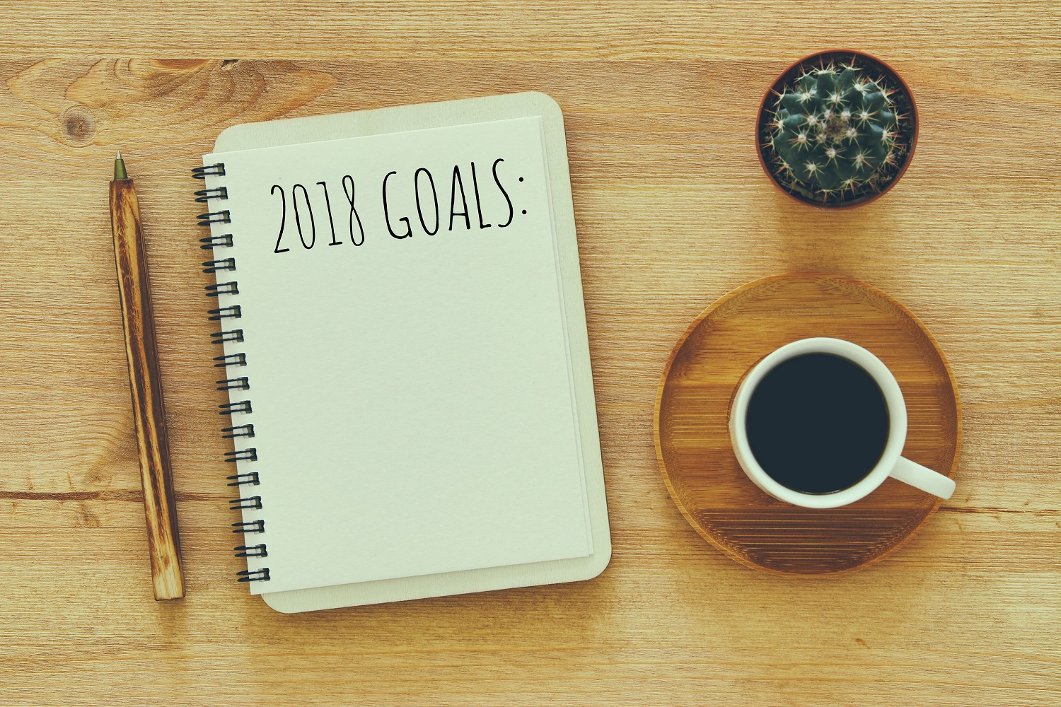 New Year's resolutions: one step at a time
