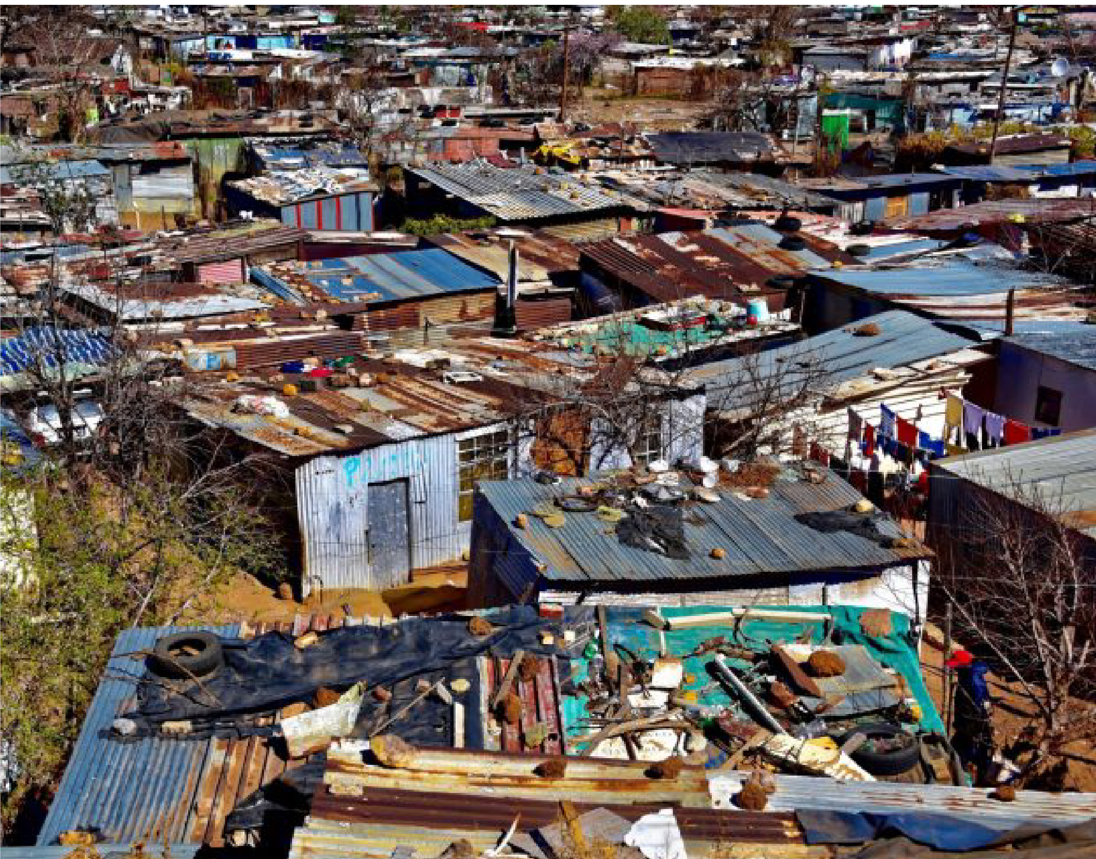 Only two provinces have above-average living conditions